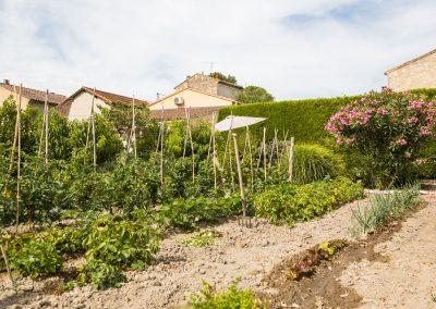Gîte en provence - Chateauneuf de Gadagne, Le jardin