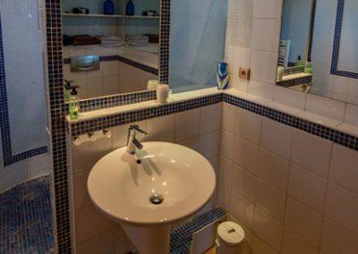 Gîte en provence - Une salle de bain du gîte