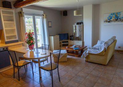 Gîte en provence - Le salon du gîte
